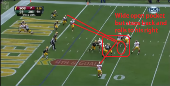 under center wrong decision