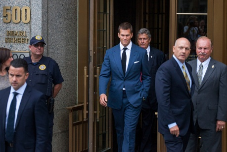 """New England Patriots Quarterback Tom Brady & NFL Commissioner Roger Goodell In Court For """"Deflategate"""" Hearing"""